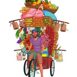 Rickshaw Rick's Logo