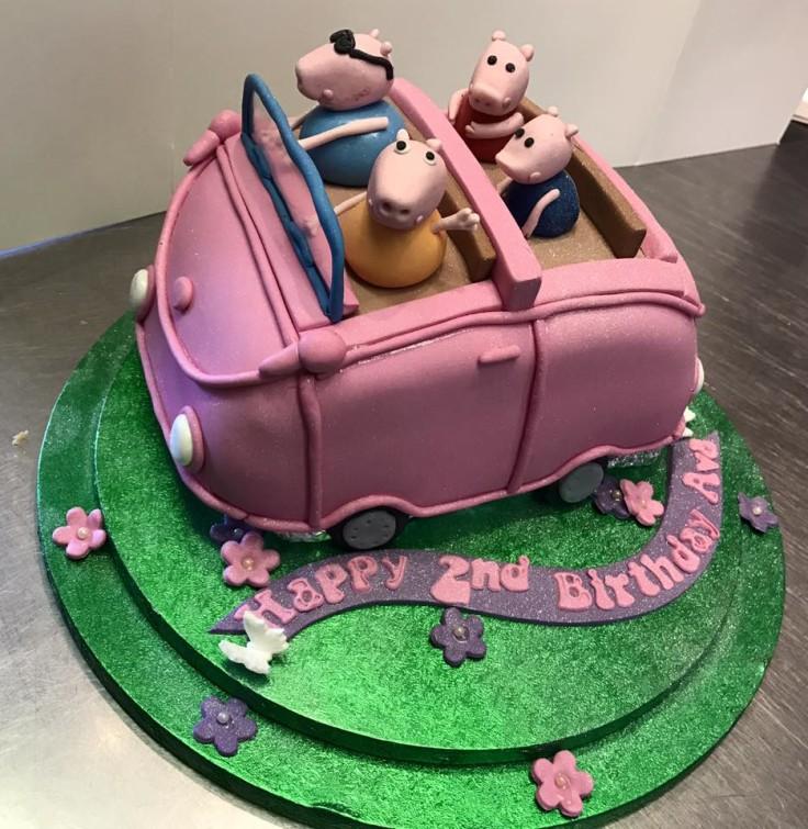 Peppa Pig Themed Cake!