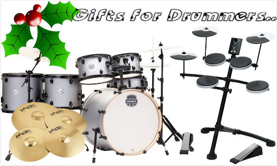 Don't forget our Christmas gift guide for drummers... A selection of great gift ideas to suit all...
