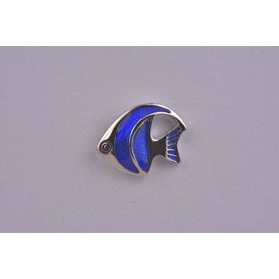 Lapel Pin – Tropical Fish Blue £14.99  now £6.99