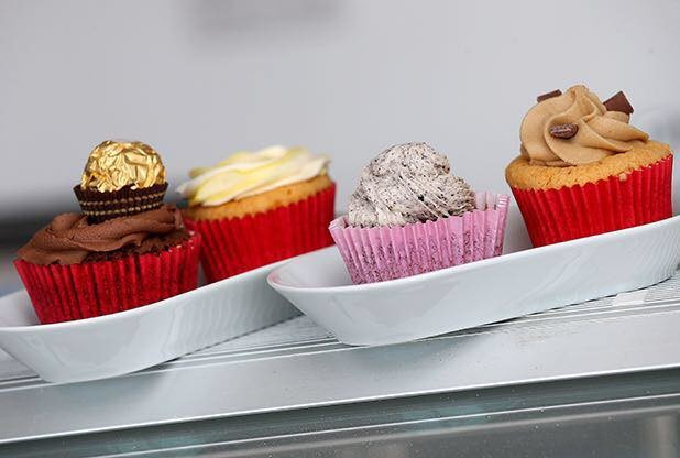 Our Bespoke Flavoured Cupcakes - Ferrero, Lemon, Oreo and Cookie Dough