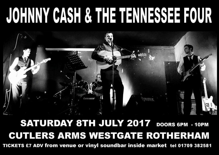 JOHNNY CASH AND THE TENNESSEE FOUR tribute