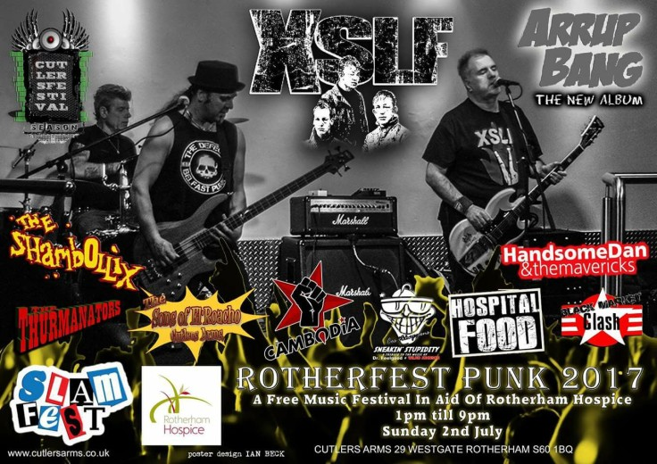 ROTHERFEST-free Entry XSLF.CHARITY FESTIVAL. ROTHERHAM HOSPICE free Entry