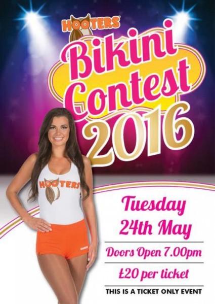 Hooters Bikini Contest 2016