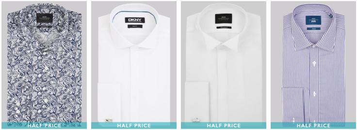 Half Price Shirts - ENDS TONIGHT!