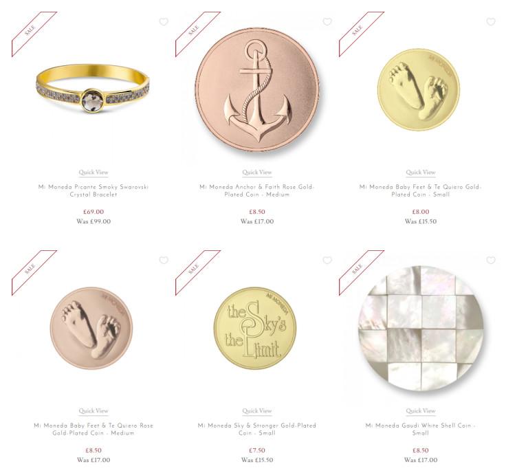 Up to 50% Off Selected Mi Moneda Jewellery