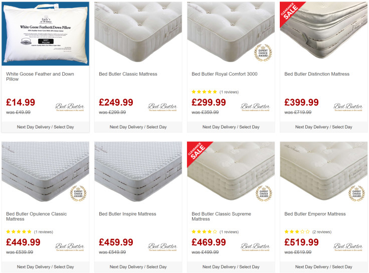 Up to £100 Off Exclusive Bed Butler Mattresses