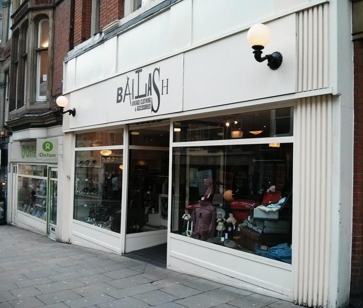 Cow vintage shop nottingham