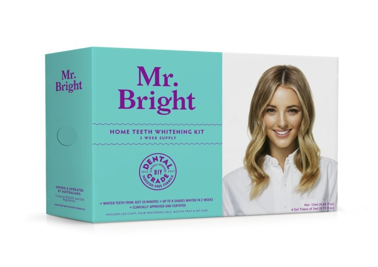 Mr Bright Teeth Whitening Kit and LED light - Was £49.95, now £29.95 - save £20!