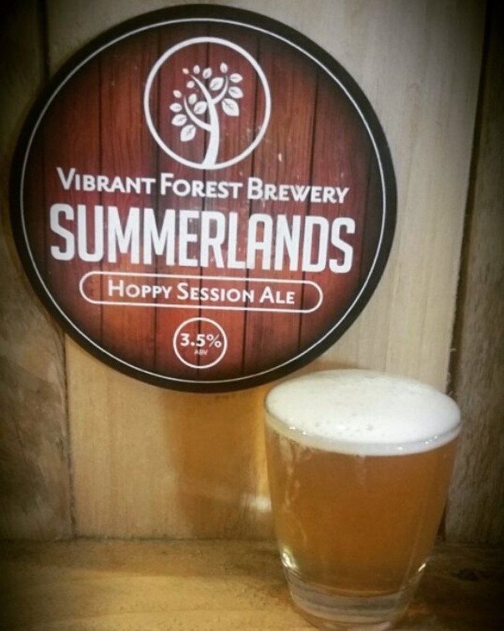 A refreshing craft from Vibrant Forest 'Summerlands'. Perfect for a drink after the cricket