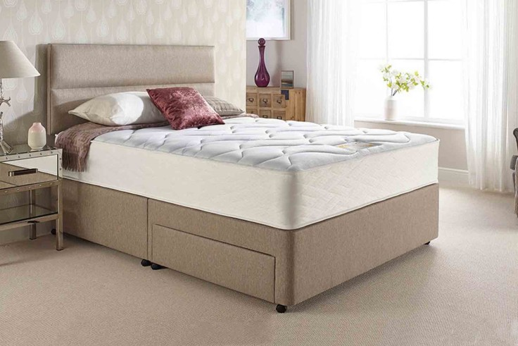 Kayflex Pocket Plush 2000 Mattress WAS £319.99, now available for just £159.99.