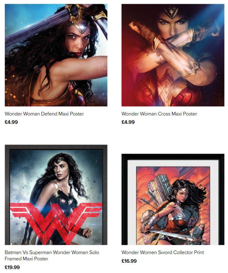 Classic and new Wonder Woman merchandise available in our extensive range!