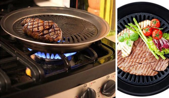 Smokeless Indoor BBQ Grill - £8.99