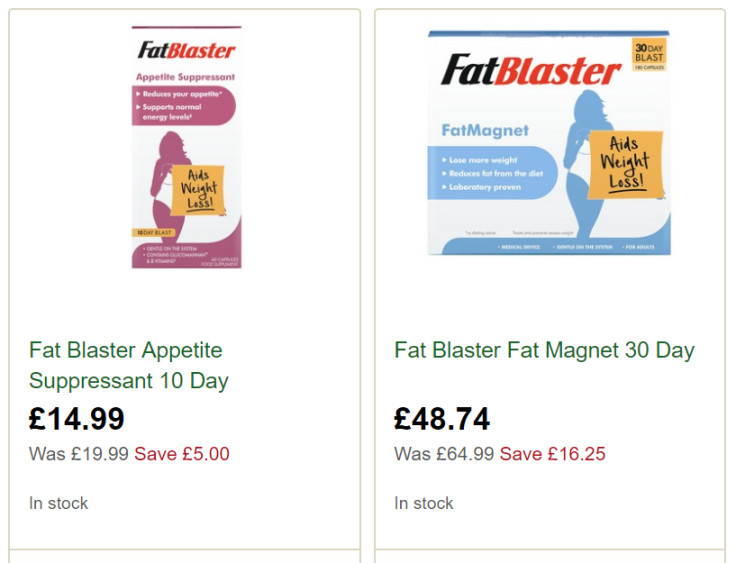 Appetite suppressant + Fat Magnet. Effective and gentle weight loss aids