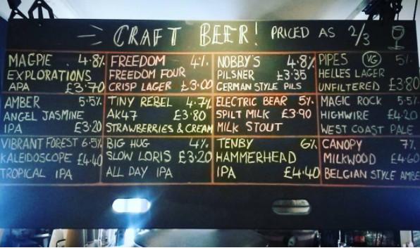 Lots of tasty beers on keg ready for Nottingham Craft Beer Week