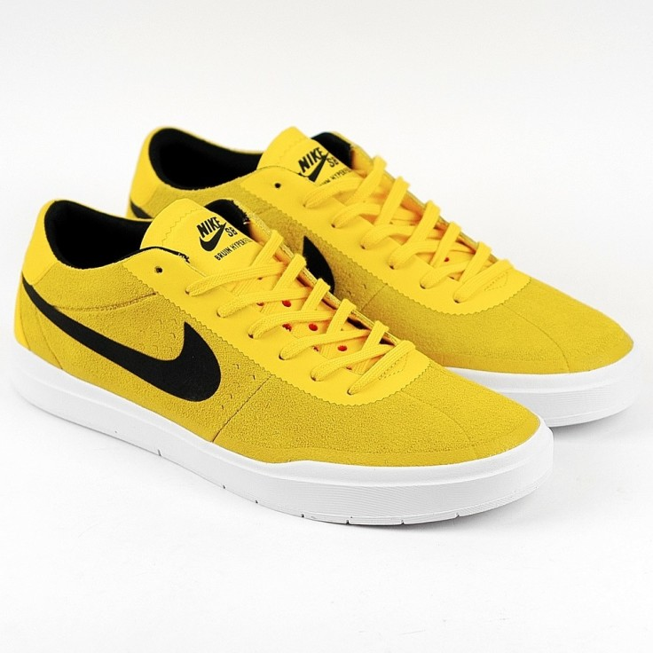 5d3d95fed97 Nike Skateboarding Brian Anderson Bruin Hyperfeel in Tour Yellow Black.