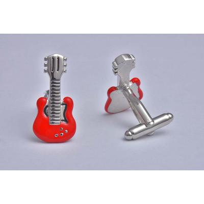 Guitar Red Cufflinks - £12.99 was £24.99