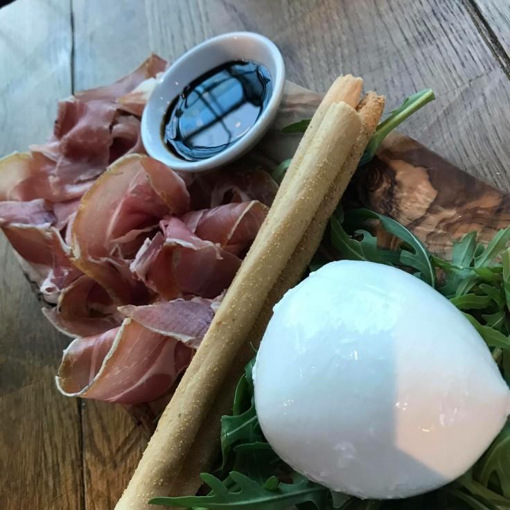 When the King (Parma Ham) meets the Queen (Mozzarella)