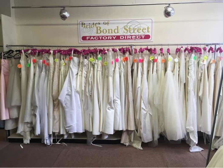 Sales Bridal Dresses from £99