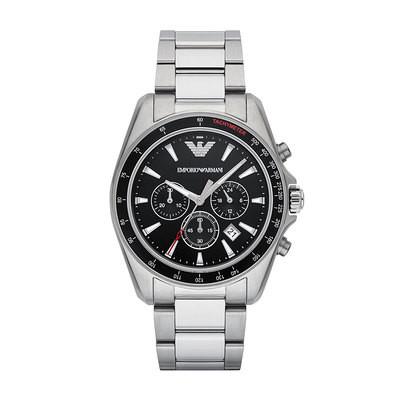 Emporio Armani Black Dial Bracelet Watch AR6098