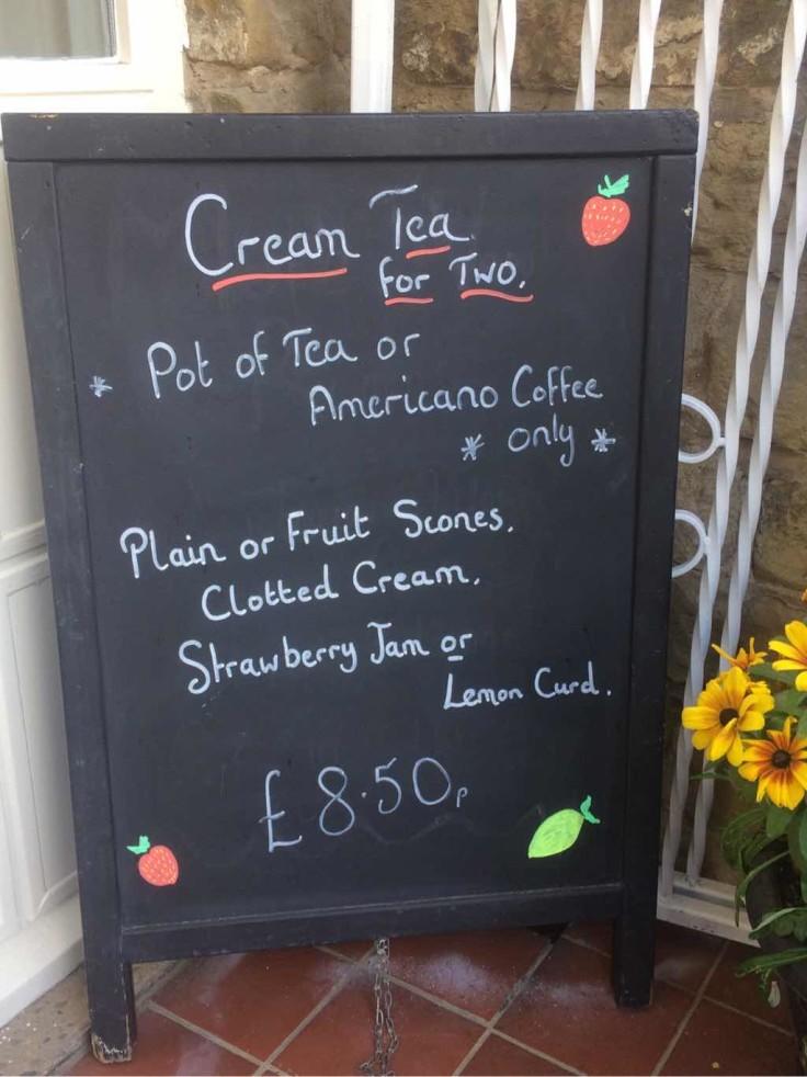 Cream tea for all!