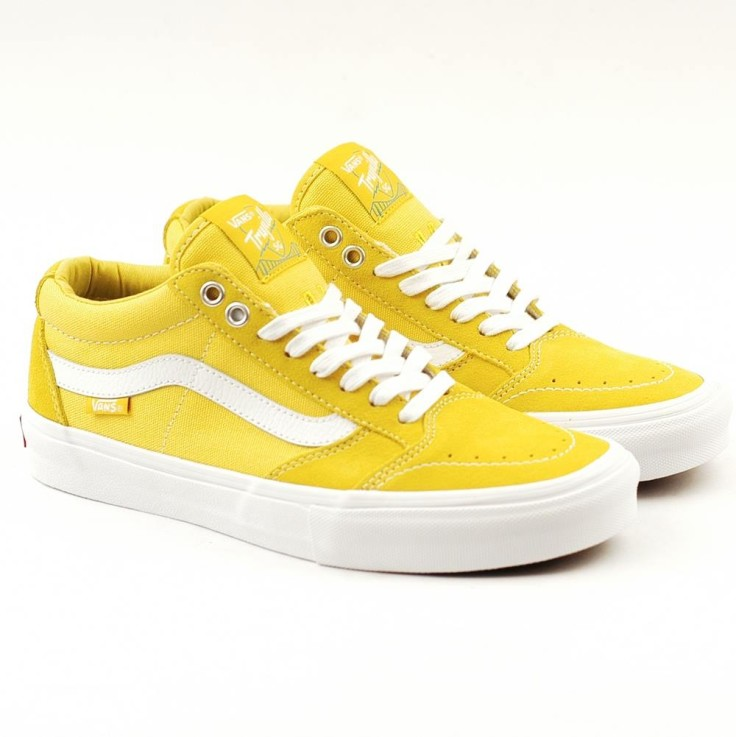 508f0ff898c0 Vans TNT SG in Maize White.