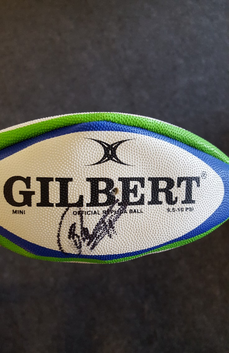 Signed Under 20s World Cup Ball [Test]