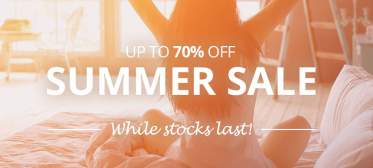 Save up to 70% off in the Mattressnextday Summer Sale