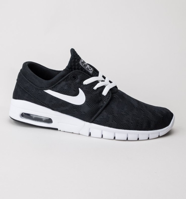 Nike Stefan Janoski Max Trainers Black-White available for just £94.99