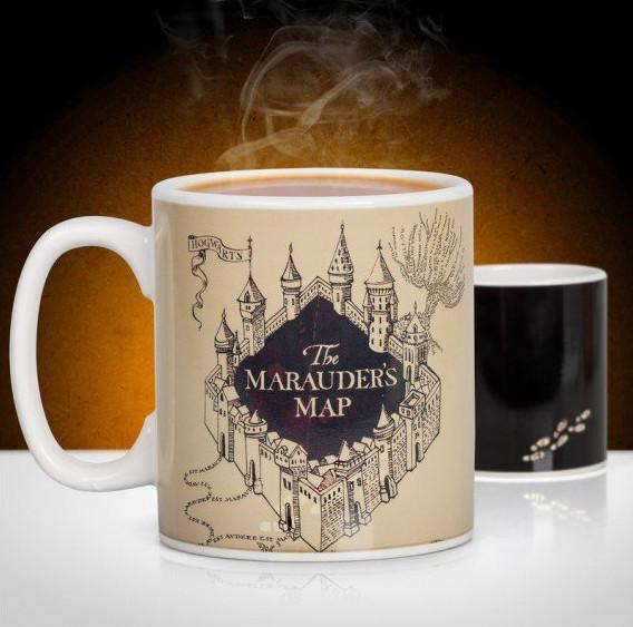 Harry Potter Marauder's Map Heat Change Mug - ONLY £10