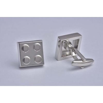 Building Block Silver Cufflinks - £12.99 was £24.99