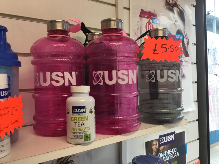 Win USN cutting edge green tea tablets,
