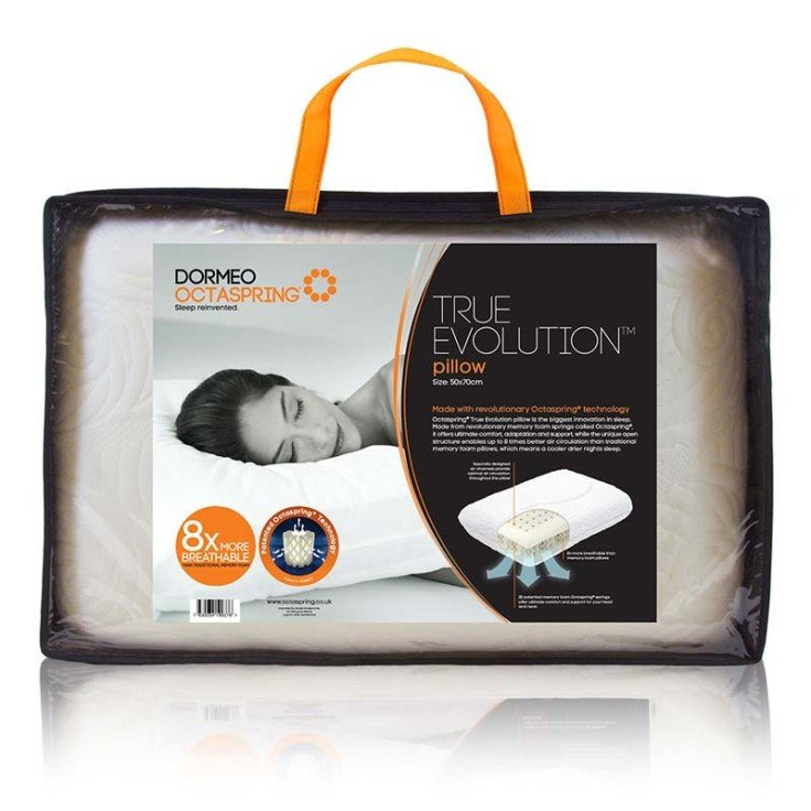 Save £34 on Octaspring True Evolution Pillow