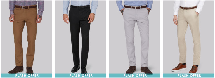 FLASH OFFER - £17.50 Trousers - Available on Selected Lines
