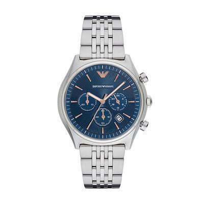 Emporio Armani Blue Dial Chrono Watch - £299