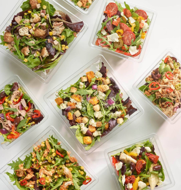 Summer's at our doorstep and we are more than ready for it!  Unlimited Salad Toppings !!