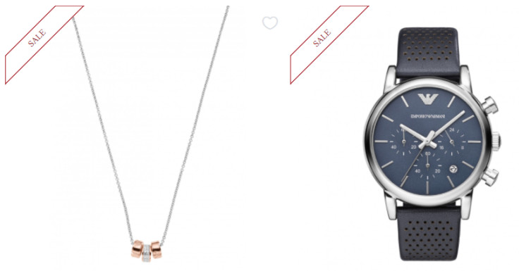 Get Up to 41% Off Selected Emporio Armani Jewellery, Cufflinks & Watches