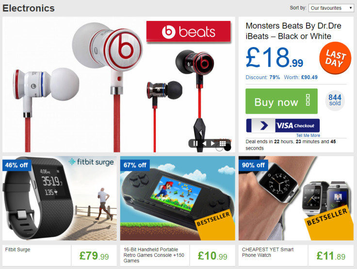 At Least 10% off all Gadgets and Electronics