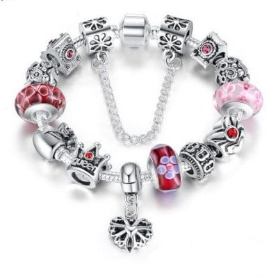 Royal Sparkle Charm Bracelet Set - £6.99 was £19.99