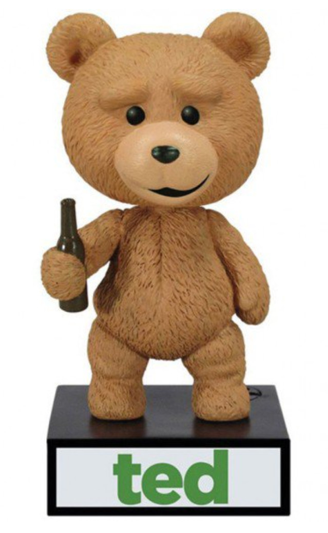 73% off WACKY WOBBLER BOBBLE HEAD TALKING TED, now available for just £3.99
