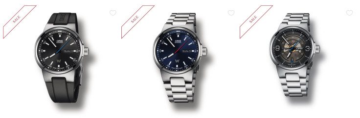 Up to 20% Off Select Oris Luxury Watches