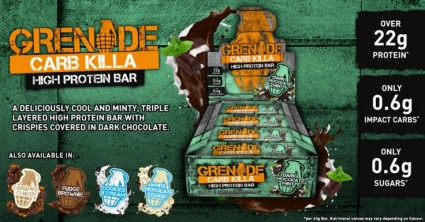 Grenade Carb Killa Bars - ONLY £20 a BOX!