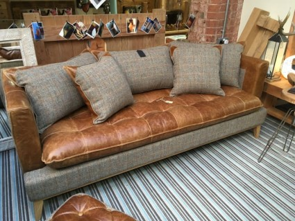 A one off offer!!  Would you like to own one of our Famous Sofas at a Discounted Price?