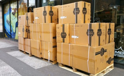 More Mapex Drum Kits Delivered this Morning! From Tornado to Saturn Series, We've Got the Lot!