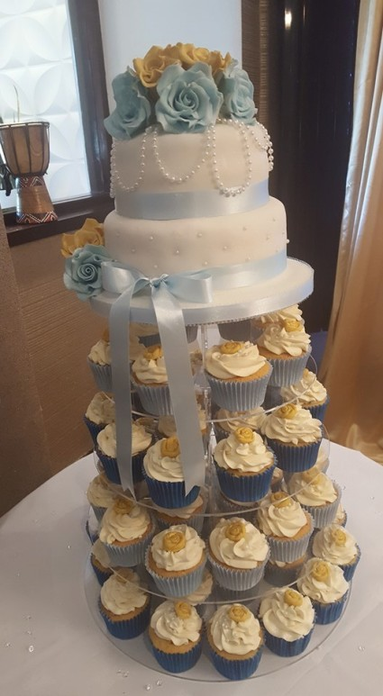 A Beautiful Cake for a Beautiful Bride