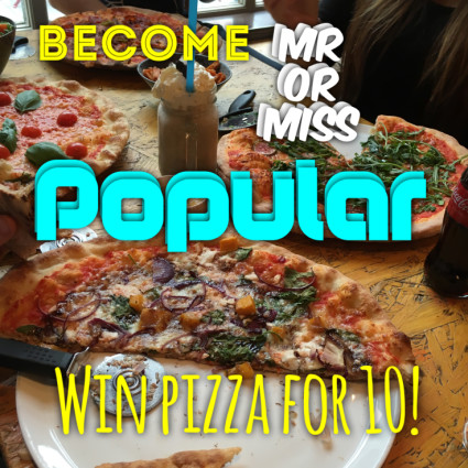 WIN A PIZZA  PARTY