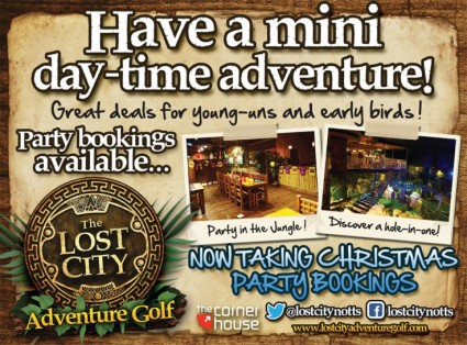 Treat the kids to an EPIC adventure this Half Term with a trip to The Lost City.