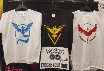 Pokèmon Go Tops!! Only - £10 for Adult Sizes £8 for Kids
