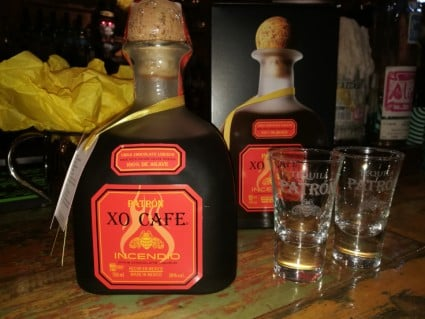 Win a bottle of Patron XO Cafe Incendio