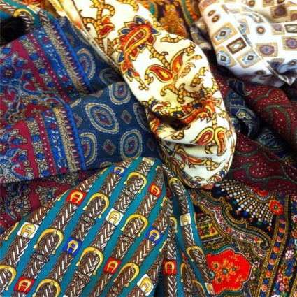 We've just had a new batch of men's silk scarves come in to Wild Clothing. Starting from only £4.50